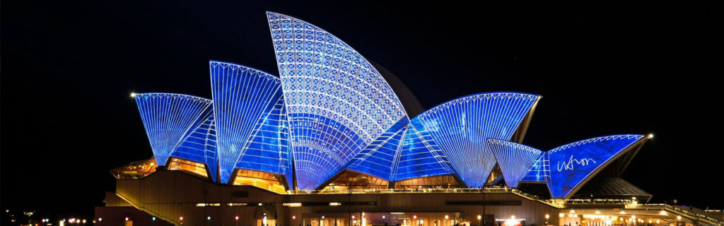 The Sydney Opera House is an iconic photograph on holidays in Australia