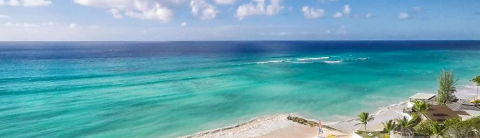 Barbados Beach From Above - Strawberry Holidays