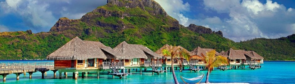 Bora Bora - an ideal destination for a January Holiday