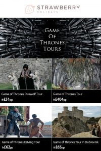 Game of Thrones Tours - Strawberry Holidays Offers