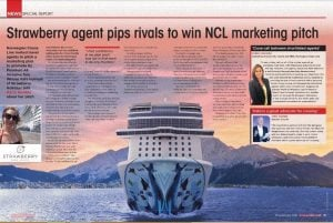 NCL Travel Weekly Marketing Campaign Strawberry Holidays