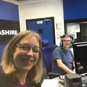 Radio Lancashire Jannuary Strawberry Holidays and John Gillmore