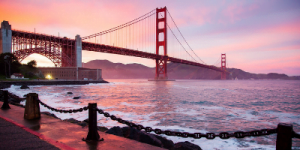 San Francisco Golden Gate Bridge - A must see on America Holidays with Strawberry Holidays