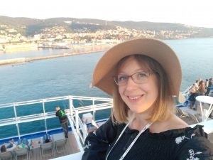 Kate on a cruise holiday onboard Sky Princess - Strawberry Holidays Blog