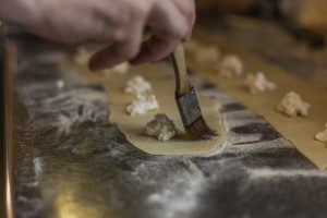 Raviolli Cooking Class on Italy Holidays with Strawberry Holidays