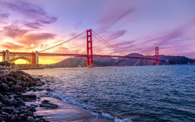 Golden Gate Bridge - USA Holidays - Strawberry Holidays - 400x250