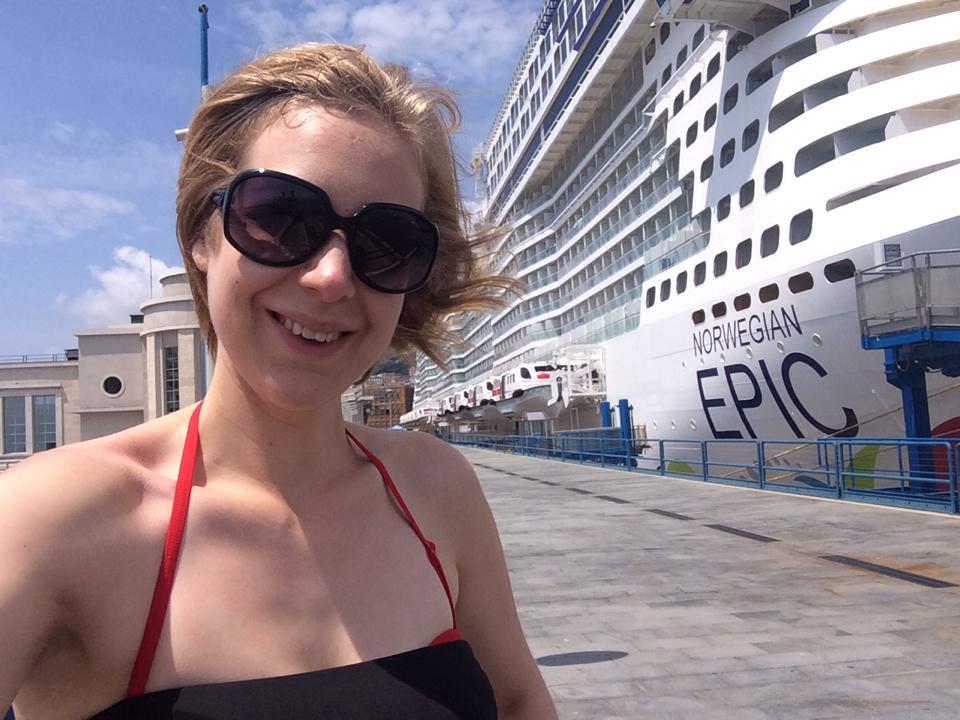 Kate H Strawberry Holidays - Norwegian Epic - Strawberry Holidays Blog